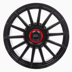 Alufelge MM04 8,5x19 5x120 ET30 Schwarz-Rot